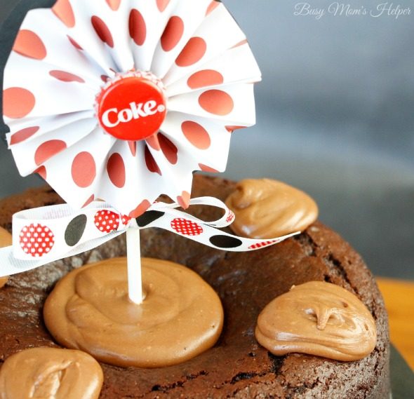 Share a Coke Cake Recipe / by Busy Mom's Helper #ShareSmiles #ad @cocacola