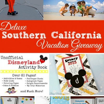 Deluxe Southern California Vacation Giveaway / by Busy Mom's Helper