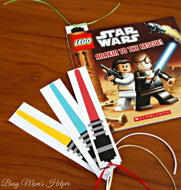 May The 4th Be With You Exclusives: Star Wars Lightsaber Bookmarks