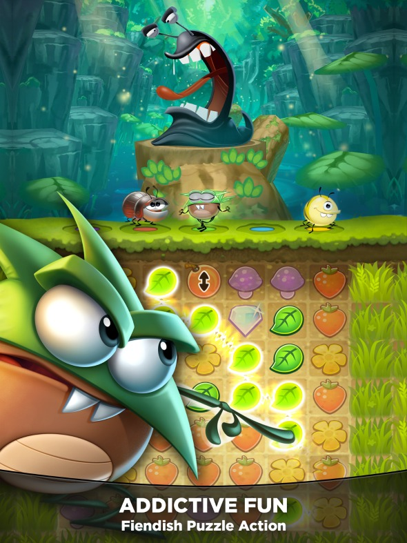 Our New Best Fiends! Favorite New Puzzle Game App / by Busy Mom's Helper #LoveBestFiends #ad