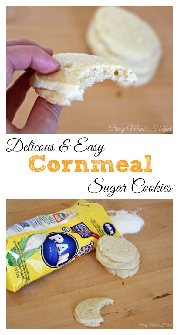 Delicious & Easy Cornmeal Sugar Cookies / by Busy Mom's Helper #PANFan #IC #ad