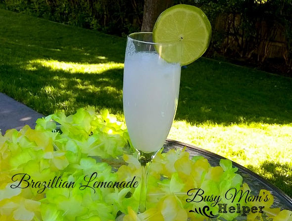 Brazilian Lemonade by Nikki Christiansen for Busy Mom's Helper