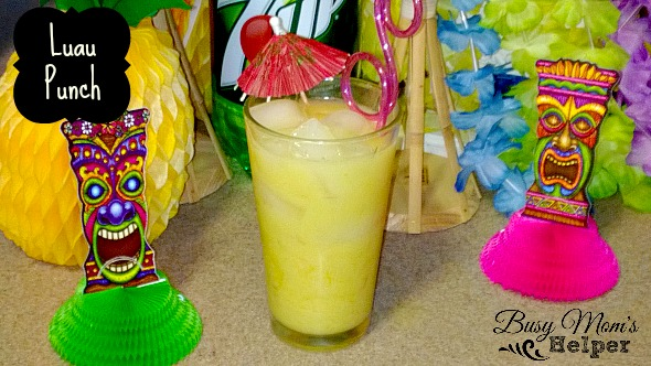 Luau Punch by Nikki Christiansen for Busy Mom's Helper
