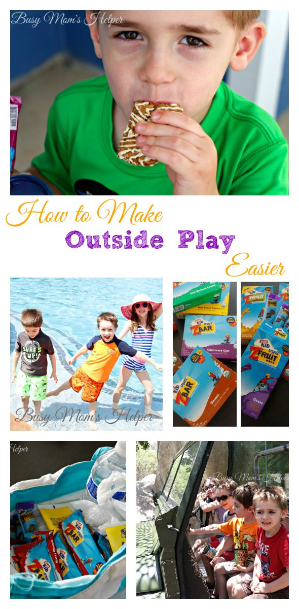 How to Make Outside Play Easier on Mom AND Kids / by Busy Mom's Helper #outtoplay #ad