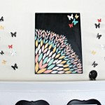 Colorful & Fun Wall Decor in an Afternoon