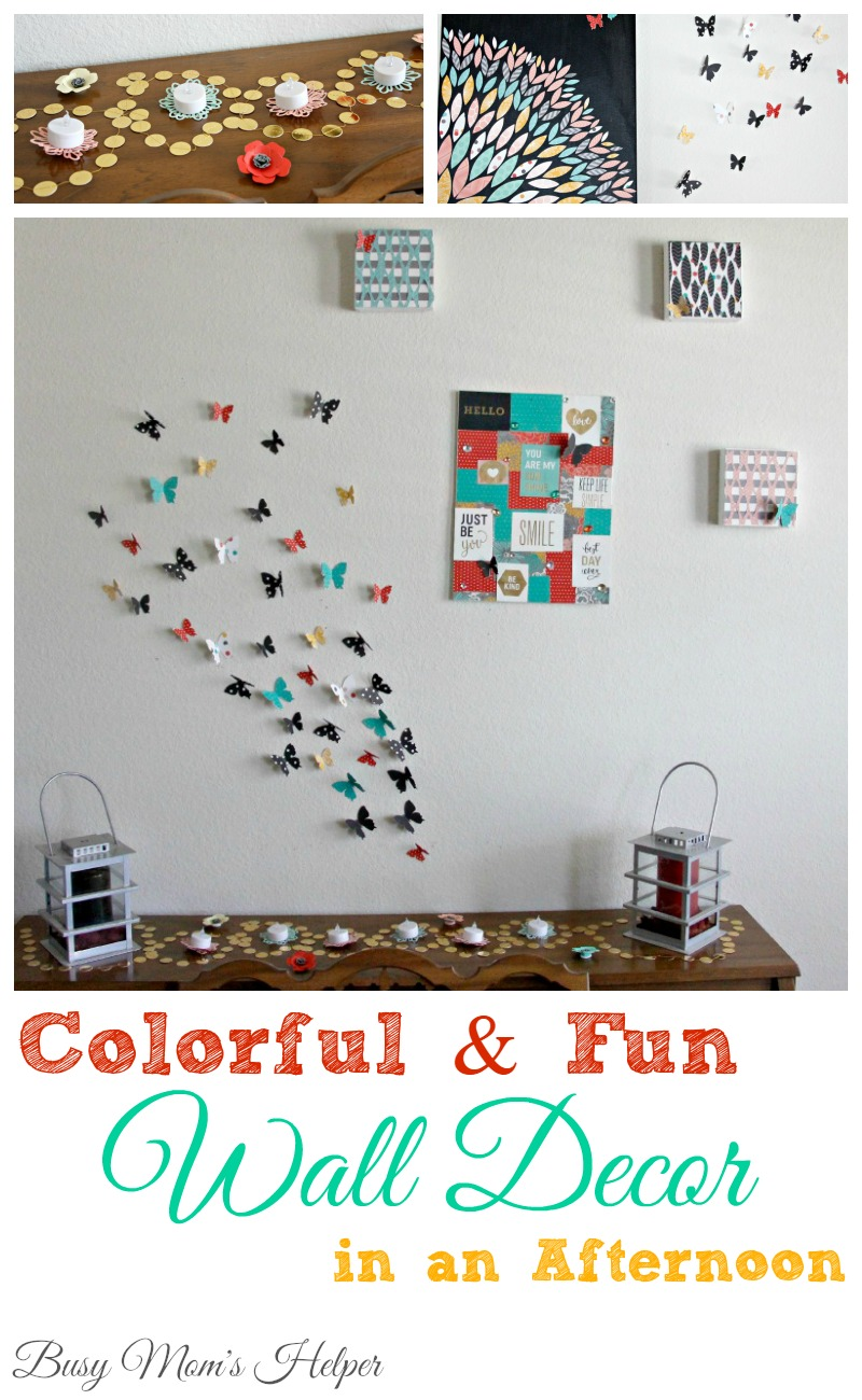 Colorful & Fun Wall Art in an Afternoon / by Busy Mom's Helper