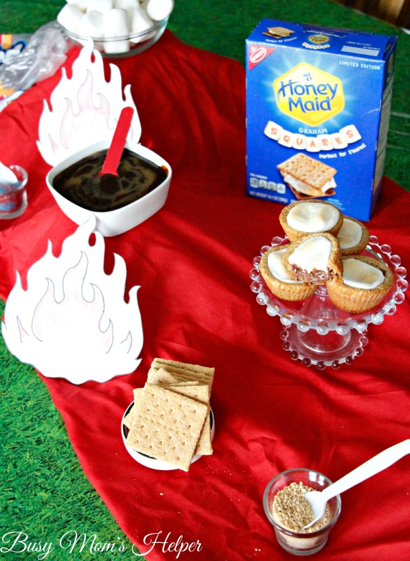 Brownie Bites for a S'mores Party / by Busy Mom's Helper #LetsMakeSmores #ad