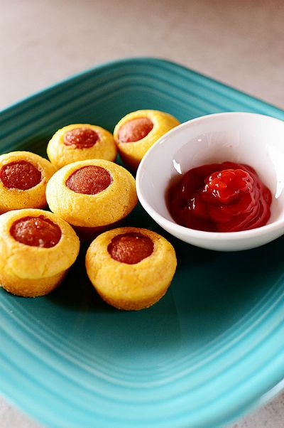 Corn Dog Muffins / by The Pioneer Woman / Round up by Busy Mom's Helper