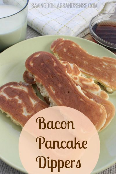 Bacon Pancake Dippers / by Saving Dollars & Sense / Round up on Carrie Elle