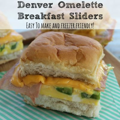 Denver Omelette Breakfast Sliders / by Mom Needs to Know / Round up on Carrie Elle