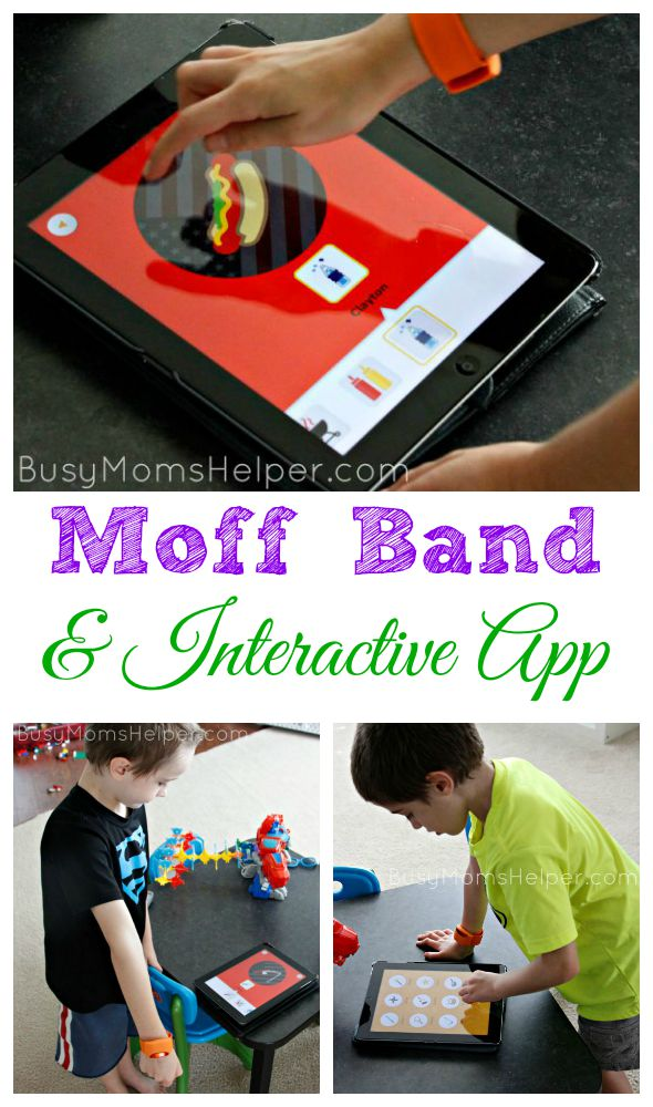 Moff Band and Interactive App / by Busy Mom's Helper #ad