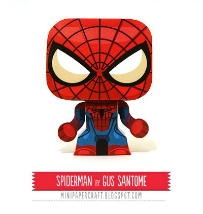 Spiderman Printable / by Mini Papercraft / Round up by Busy Mom's Helper