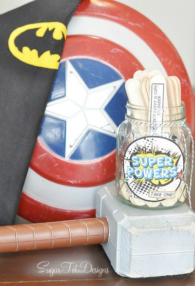 Super Hero Summer Boredom Buster / by Sugar Tot Designs / Round up by Busy Mom's Helper