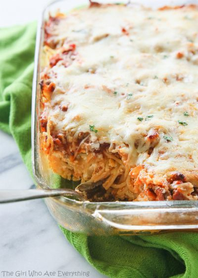 Baked Spaghetti / by The Girl Who Ate Everything / Round up by Busy Mom's Helper
