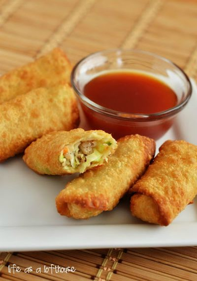 Chicken Egg Rolls / by Life in the Lofthouse / Round up by Busy Mom's Helper