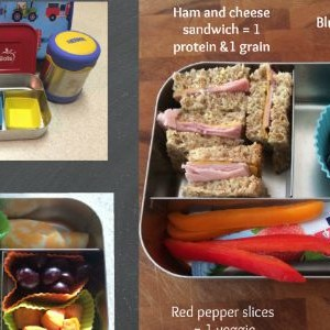 Mix and Match Preschool Lunch