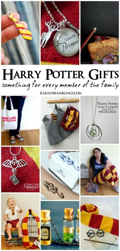 Harry Potter Gifts for the Whole Family / by Raegan Ramblings