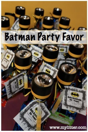 Batman Party Favors / by My Litter / Round up by Busy Mom's Helper