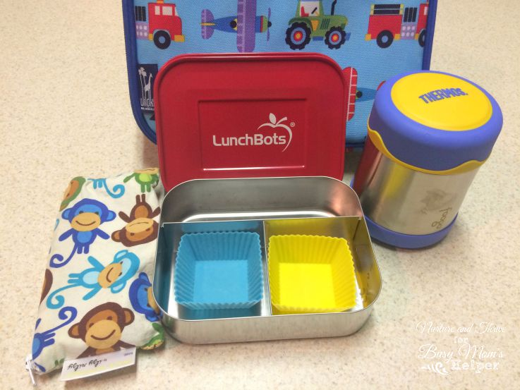 Preschool lunch tips - mix and match one from each category!