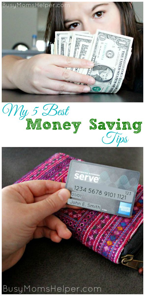 My 5 Best Money Saving Tips / by Busy Mom's Helper #ServeThemGood #IC #ad