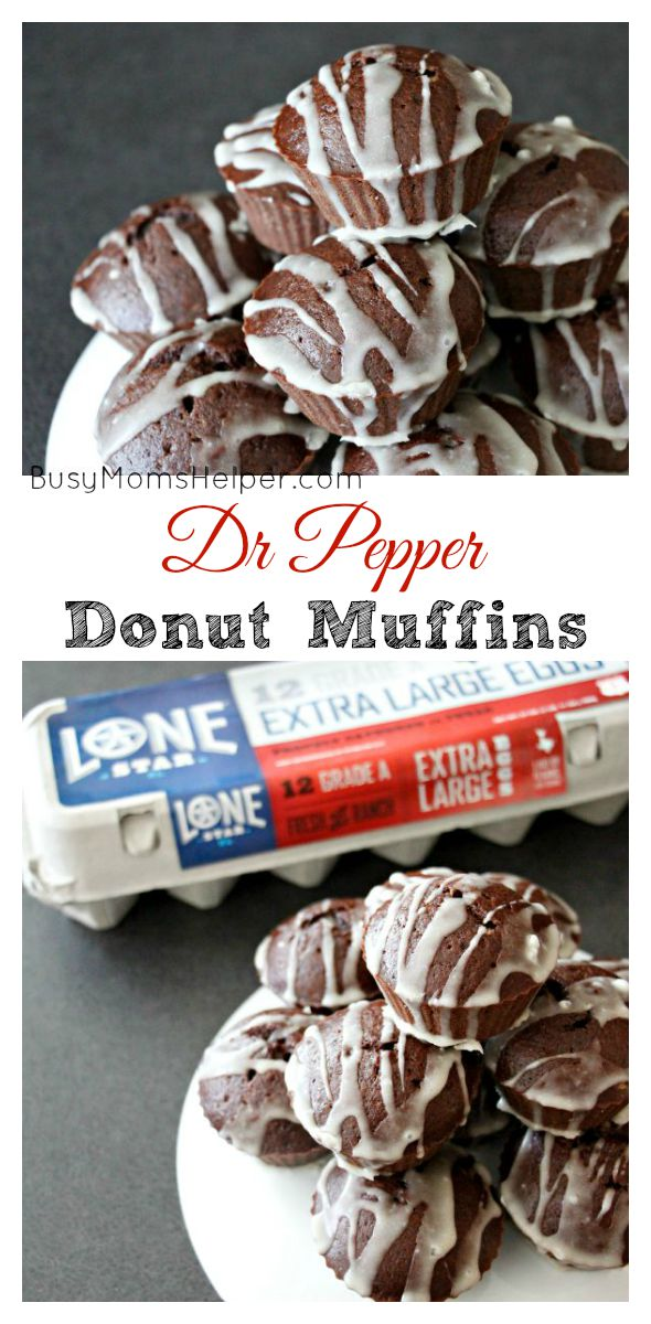 Dr Pepper Donut Muffins / by Busy Mom's Helper