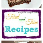 Tried and True Recipes: Peanut Butter Cup Cookie Bars