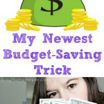 My Newest Budget-Saving Trick
