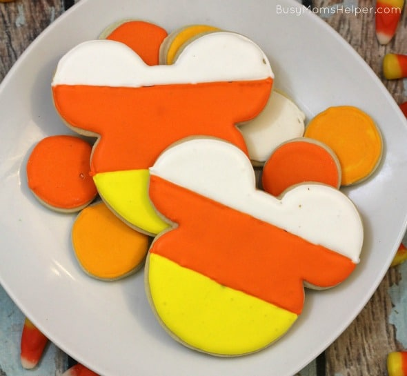 Candy Corn Mickey Mouse Cookies / by Busy Mom's Helper