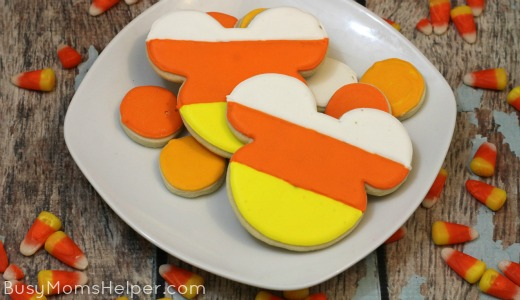 Candy Corn Mickey Mouse Cookies Busy Moms Helper