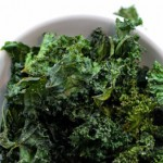 Truffle & Garlic Kale Chips l Steph in Thyme for Busy Mom's Helper