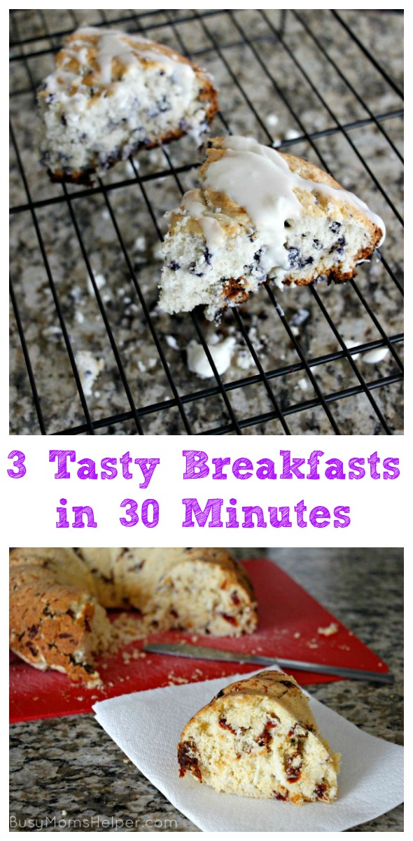 3 Tasty Breakfasts in 30 Minutes / by Busy Mom's Helper #ad