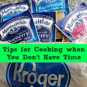 Tips for Cooking When You Don't Have Time