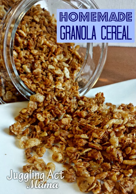 Homemade Granola Cereal