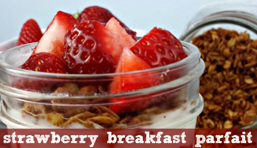 strawberry breakfast parfait feature