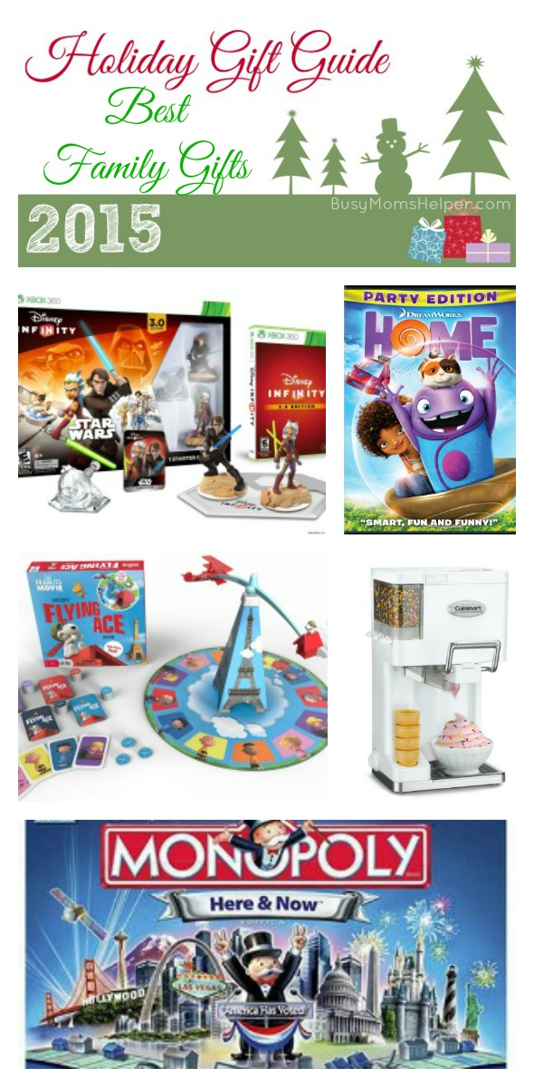 Best Family Gifts of 2015 / by BusyMomsHelper.com / Holiday Gift Guide 2015 #sponsored