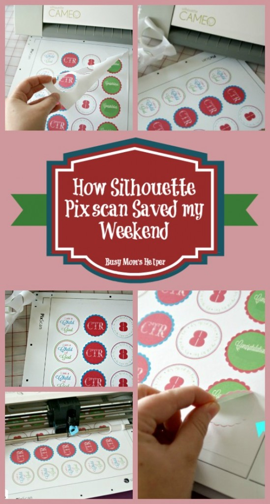 How Silhouette Pixscan Saved My Weekend / by BusyMomsHelper.com