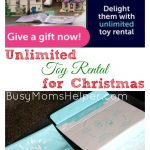 Unlimited Toy Rental for Christmas