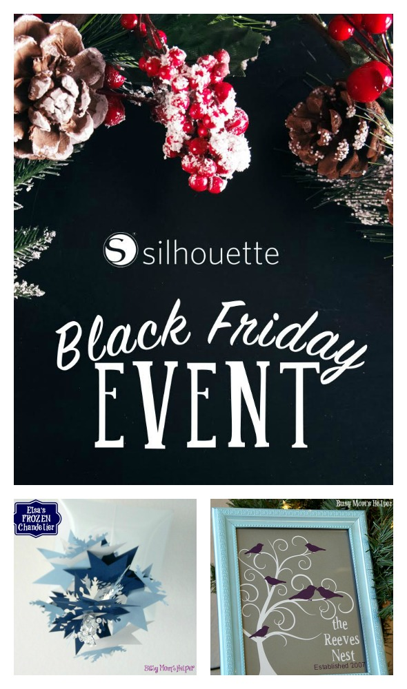 Black Friday Deals with Silhouette / by BusyMomsHelper.com #affiliate