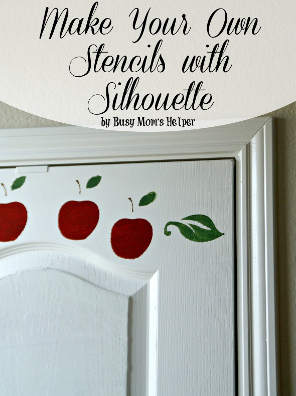 Make Your Own Stencils with Silhouette / by BusyMomsHelper.com