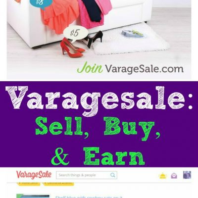 Varagesale: Sell, Buy & Earn / by Busy Mom's Helper #ad