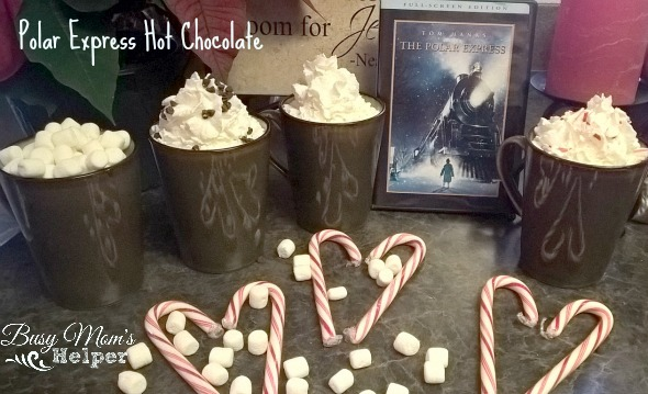 Polar Express Hot Chocolate by NIkki Christiansen for Busy Mom's Helper