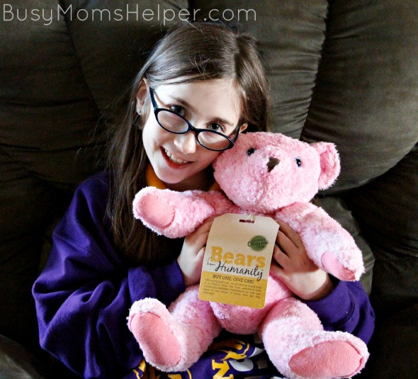 Can a Teddy Bear Change the World? / by BusyMomsHelper.com #sponsored