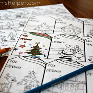 Free Printable Coloring Gift Tags