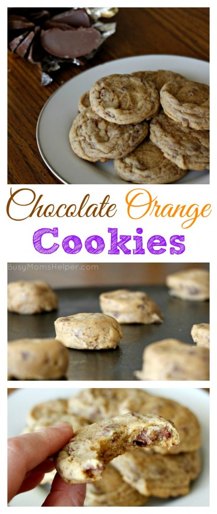 Chocolate Orange Cookies / by BusyMomsHelper.com / Pudding Cookies