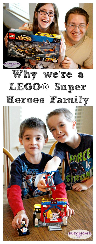 Why are LEGO® Sets Good for Kids? Here are 5 reasons we're a LEGO® Superhero Familyl! by www.BusyMomsHelper.com #LEGOSuperHeroesCG #Sponsored