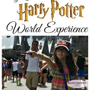 My First Harry Potter World Experience