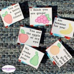 Printable Fruity Valentines