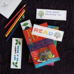 Print and Color Bookmarks with trees
