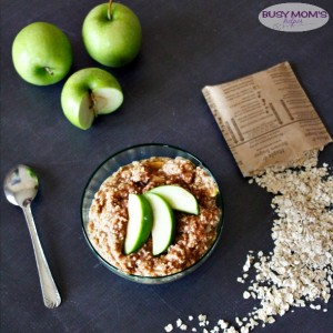 Easy Apple Fritter Oatmeal
