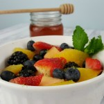 Honey Lime Fruit Salad